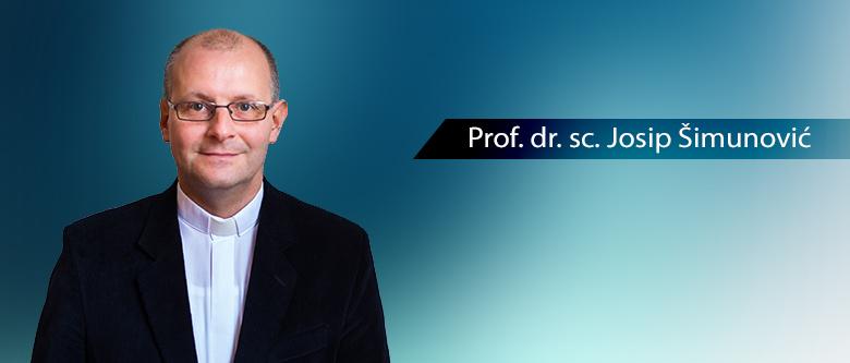 Prof. Josip Šimunović, PhD