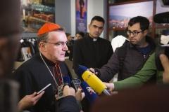 """Predstavljanje zbornika radova """"Da život imaju"""" u povodu 70. rođendana kardinala Josipa Bozanića - 26. studenoga 2019."""
