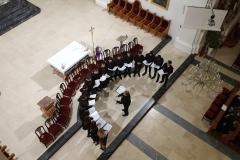 Pučki pivači u varaždinskoj katedrali - 13. siječnja 2019.